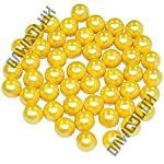 DAWOOLUX .68 Caliber PEG Paintballs 500 1000 2000 Rounds Orange and Golden Color