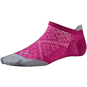Smartwool Women's PhD Run Ultra Light Micro Socks (Berry) Small