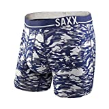 Saxx Underwear Men's 3 Six Five Boxer Heather Camo/Navy Boxer Briefs XL