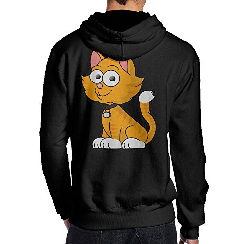 Harmony Blue Fifth Costumes (SBPZEB Smile Cat Jersey Men's Hoodie L)