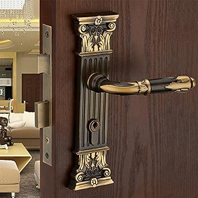 Cnmklm European Style Luxury Door Lock Living Room Locks Bedroom