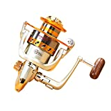 Fishing Spinning Reel Spinning Fishing Reel 12+1 BB Light Weight Ultra Smooth Powerful (12+1 BB GS1000) For Sale
