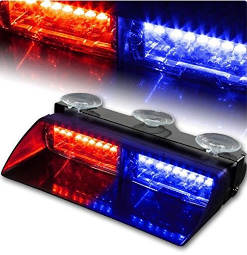 red and blue led strobe lights - 6