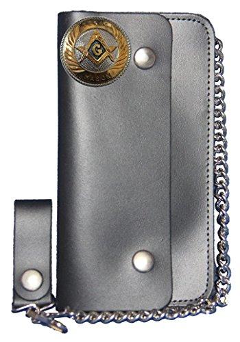 Chain Wallet USA Custom Black MADE IN Texas Mason Large Long fwCxCYOqaS