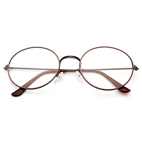 Juleya Gafas de lentes transparentes gafas de lectura decoración Geek de moda / gafas Nerd retro par...