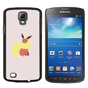 TECHCASE---Cubierta de la caja de protección para la piel dura ** Samsung Galaxy S4 Active i9295 ** --Elegante P0kemon