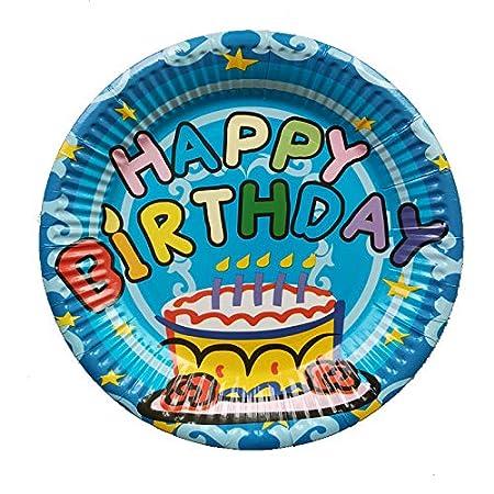 Platos desechables para fiestas de cumpleaños infantiles ...