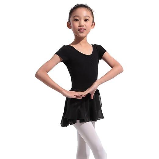 f4794ba31 Amazon.com  Jlong Baby Girls Chiffon Leotard Ballet Dance Dress ...