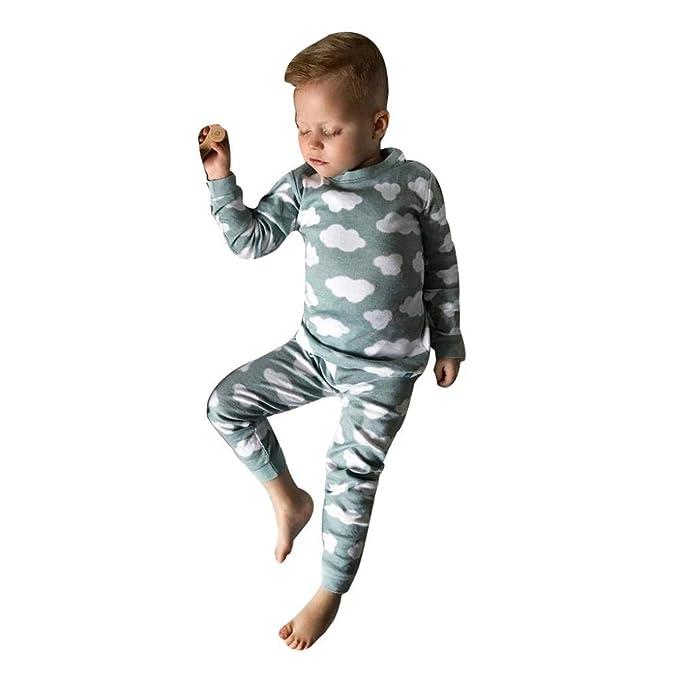 K-youth Ropa Bebe Otoño Invierno Infantil Recién Nacido Niño Casual Nube Impresión Camisas de