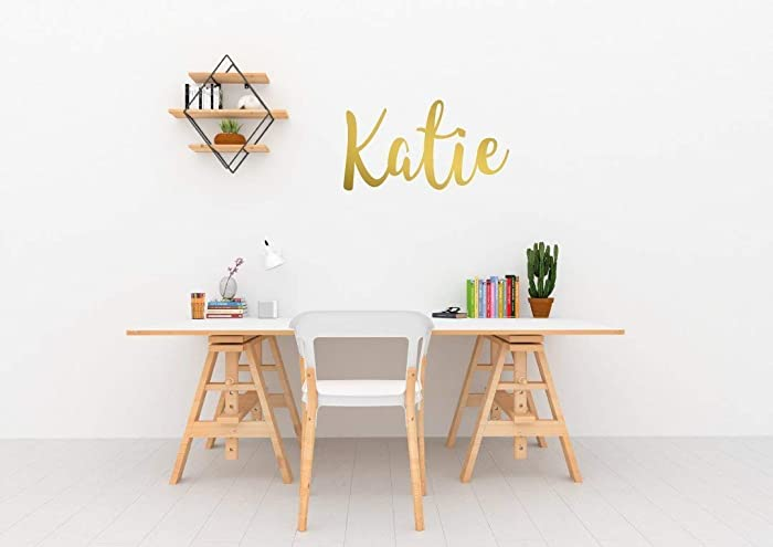 custom name wall sticker personalised wall decal customised bedroom