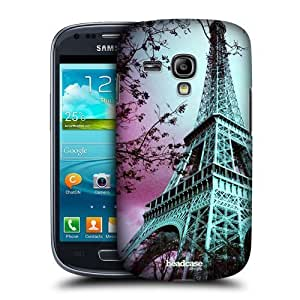 AIYAYA Samsung Case Designs Eiffel Tower Paris France Best of Places Protective Snap-on Hard Back Case Cover for Samsung Galaxy S3 III mini I8190 WANGJING JINDA