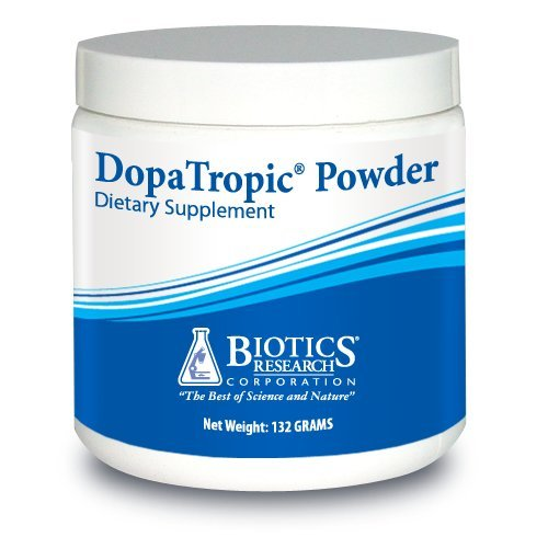 Biotics Research DopaTropic© Powder – Dopamine, Easy-to-Mix Powder, Neurotransmitter Health, Emotional Support, Cognitive Health, Memory & Learning, Mucuna pruriens 5 oz