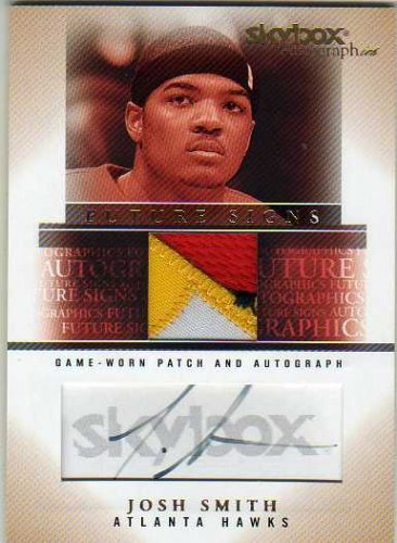 2004-05 SkyBox Autographics Future Signs Autographs Patches 20 #JS Josh Smith Autograph Jersey Card Serial #'d/20 - ()