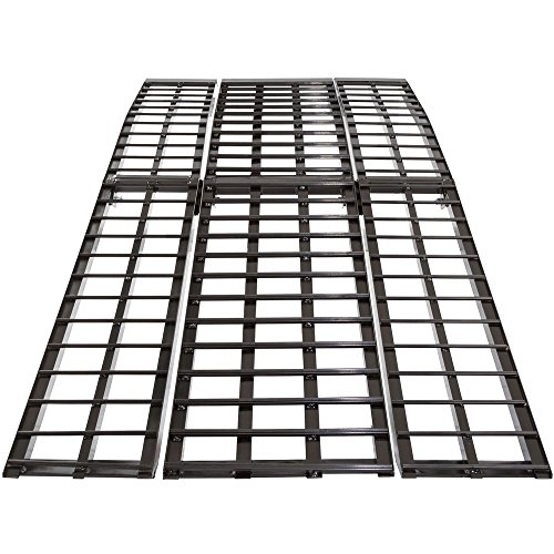 (Black Widow BW-10840-HD 108' 3-Piece Heavy Duty Folding Arched Motorcycle Ramp)