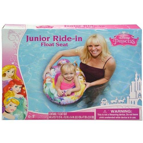 Disney Princess Baby Toddler Ride-on Float Seat - Swim Raft, Ring, Pool, Beach