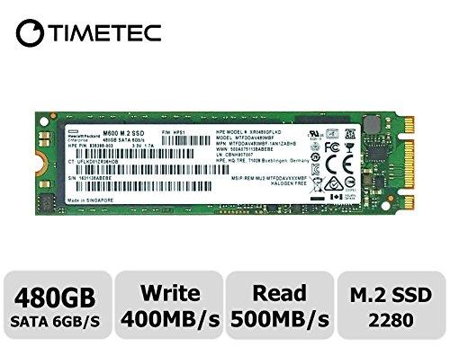 Timetec Micron Flash 480GB M.2 2280 SATA 6Gb/s Internal SSD(MTFDDAV480MBF) by Timetec