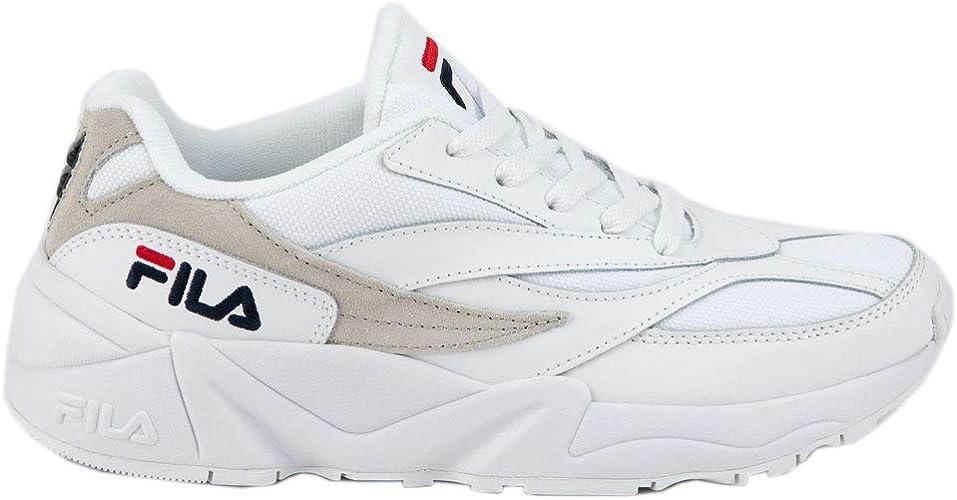 White \u0026 Gray Shoes, White, 6.5
