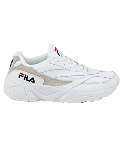 Amazon.com | Fila V94M White & Gray Shoes, White, 7.5 ...