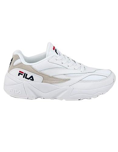 Amazon.com | Fila V94M White & Gray Shoes, White, 9 ...
