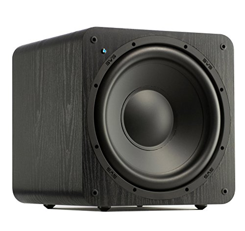 SVS SB-1000 Subwoofer (Black Ash) - 12-inch Driver, 300-Watts RMS, Sealed Cabinet
