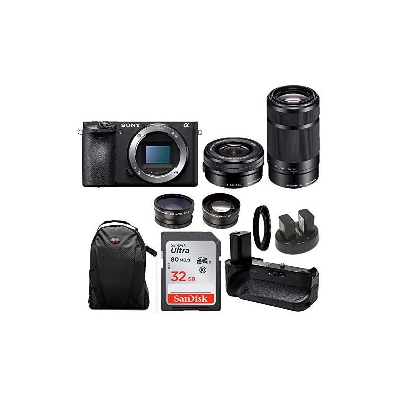 Sony a6500 Mirrorless Camera with SELP16