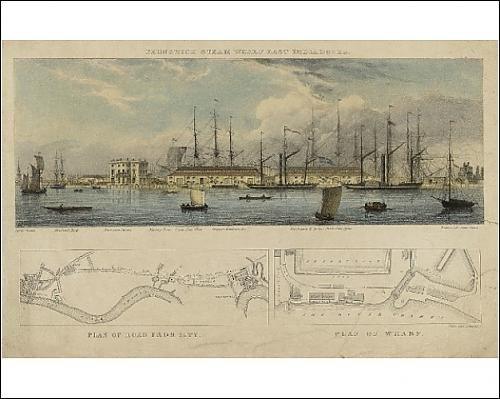 India Docks - Photographic Print of Brunswick steam wharf East India Docks by Media Storehouse