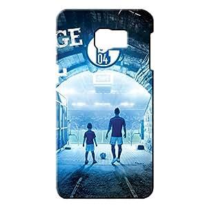 Popular Design FC Gelsenkirchen-Schalke 04 Football Club Logo Phone Case Cover For Samsung Galaxy S6edge&plus 3D Plastic Phone Case