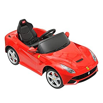 Amazon Com Ferrari Kids Electric Ride On Toy Car W Parent