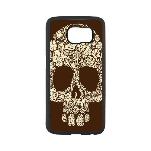 Artsy Edges - Samsung galaxy s6 edge plus case, DIY Artsy Skull Pattern Durable Plastic Hard Back Cover case Design For Samsung galaxy s6 edge plus(Black)