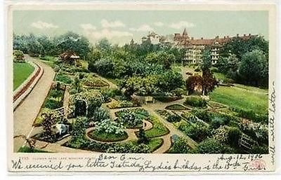 Mohonk House Flower Beds Mohonkland, New York Postcard Posted In 1906 #13359