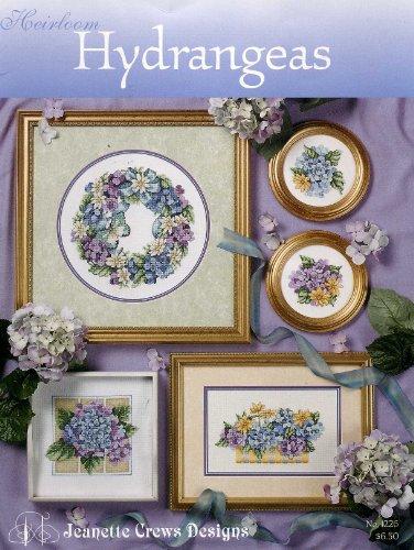 Heirloom Hydrangeas, cross stitch (Jeanette Crews Designs)