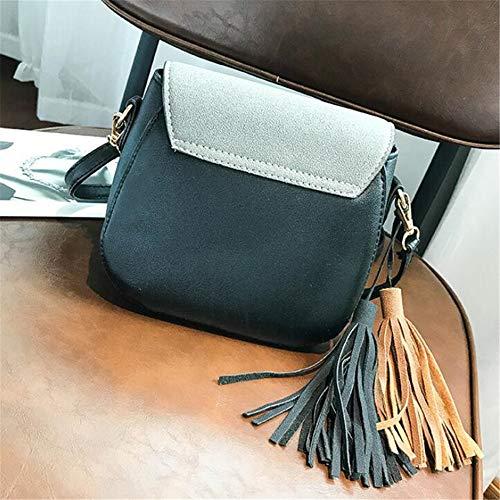 Bandoulière Mode La Noir Gray Décontracté À Femme Divertissement Sac GWQGZ Sacoche À Nouveau pour 6q4pZp