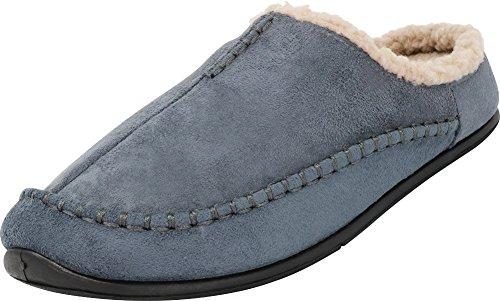 - Tamarac by Slippers International Men's Lancaster Berber Fleece Lined Clog Slipper (13 D(M) US, Grey)