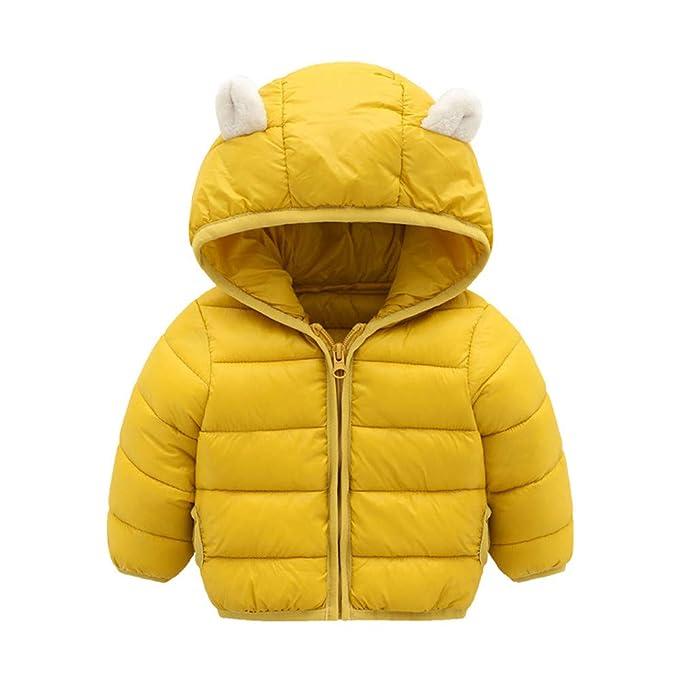 ASHOP Ropa Bebe, Niño Niña Chaqueta Gruesa con Capucha de Nieve con Cremallera Impermeable Abrigo para 0-5 Años: Amazon.es: Ropa y accesorios
