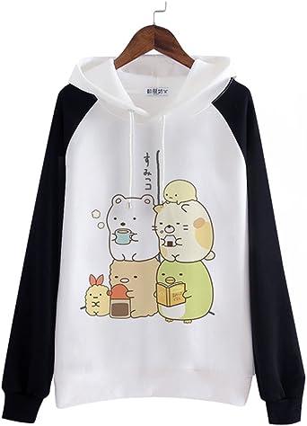 Himifashion Girls Kawaii Cat Printed Tops T-Shirt Milk Silk Casual Short Sleeve T-Shirt 6 Versions