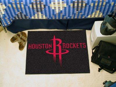 29' Logo Starter Mat (NBA Houston Rockets 18'' x 29'' Logo Starter Mat)