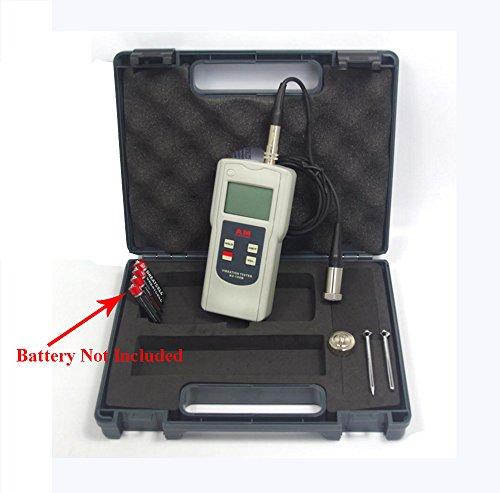 AV-160B Portable Digital Vibration Tester Meter with Acceleration Velocity Displacement Measuring Vibration Analyzer Vibrometer by VETUS INSTRUMENTS