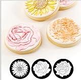 gel kitchen mats canada Autumn Carpenter Designs Cupcake Top Impression Mat Set - Floral
