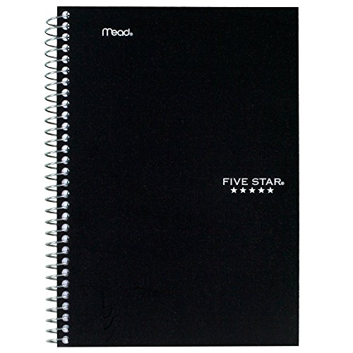 043100061809 - Five Star Wirebound Notebook, College Rule, 6 x 9-1/2, White, 100 Sheets/Pad (06180) carousel main 9