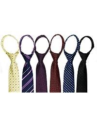6pcs Business Regular Necktie Tie Mixed Lot