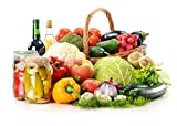 Bekith 15 Pack Premium Reusable Produce Bags - Five Large 12x17in, Five Medium 12x14in, and Five Small 12x8in - Eco Friendly Net Bags for Grocery Shopping & Storage of Fruit Vegetable & Garden Produce