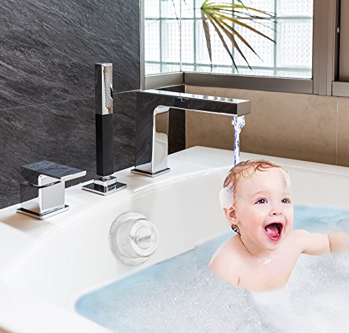 Zubree Baby Bathtub Safety Cover for Trip-Lever/Toggle Handle + Bonus Gift Silicone Baby ()