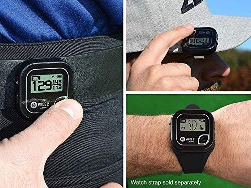 Golf Buddy Voice 2 Talking GPS Rangefinder, Long Lasting Battery Golf Distance Range Finder, Easy-to-use Golf Navigation…