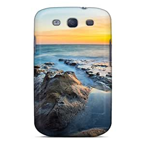 ArtCart Slim Fit Tpu Protector YIA7938jxOL Shock Absorbent Bumper Case For Galaxy S3