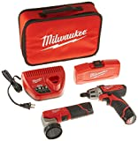 MILWAUKEE ELEC TOOL 2482-22 M12 12V Cordless Lithium-Ion 2 Tool Combo Kit with Bit Set Review
