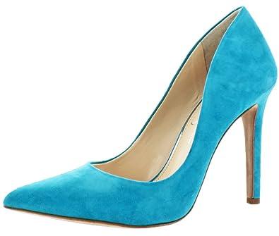 2a69930f606e Jessica Simpson Cassani Womens Pointy Toe Dress Pumps Blue Size 5.5
