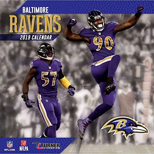 2019 Baltimore Ravens Calendar, Baltimore Ravens by Turner Licensing ...