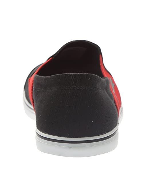 Puma Men's Elsu v2 Slip On DP Black and High Risk Red