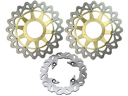 ake Disc Rotor For Honda 2006 2007 CBR1000RR 06 07 Gold ()
