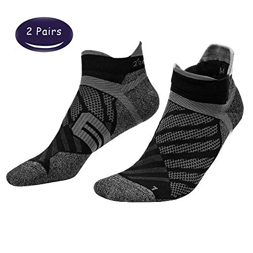 Toes&Feet Men's Antibacterial Thin Quick-Dry Ankle Compression Running Socks – DiZiSports Store